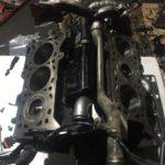 установка двигателя V6 инфинити